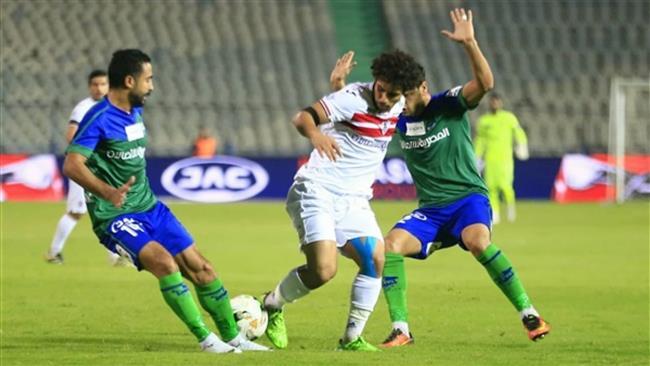 شاهد  أهداف مباراة الزمالك ومصر المقاصة في كأس مصر