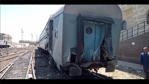 بعد اعترافات مساعده.. النيابة تأمر بحبس سائق قطار مصر