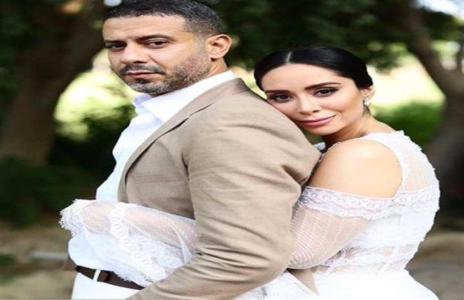 أول ظهور لـ محمد فراج وبسنت شوقى بعد زواجهما
