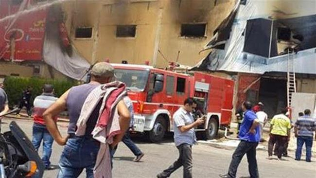 """الحماية المدنية تسيطر على حريق"""" شونة أرز """"بالدقهلية"""