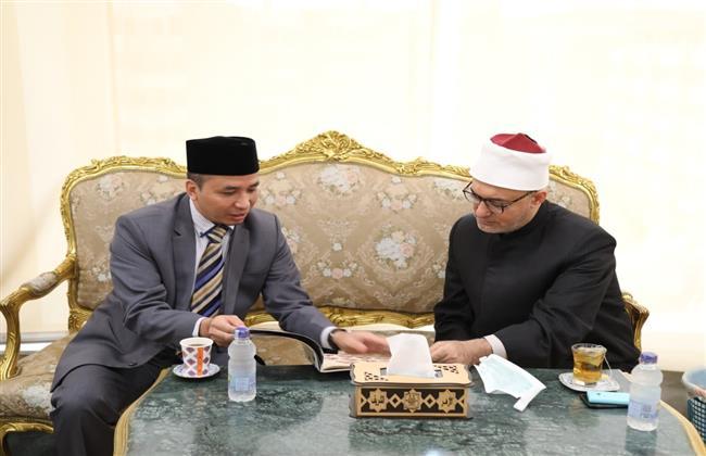 وفد إندونيسي لـ«عيّاد»: العالم فى حاجة إلى علماء الأزهر