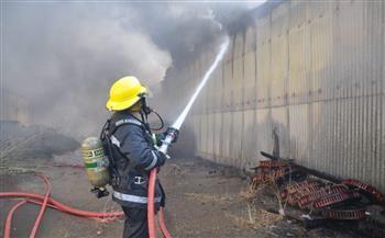 بعد تفحم جميع المستندات.. السيطرة على حريق مجلس الدولة
