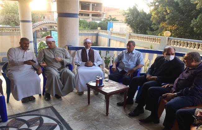رئيس مدينة بيلا يشارك في الذكرى العاشرة للقارئ الشيخ أبو العينين شعيشع