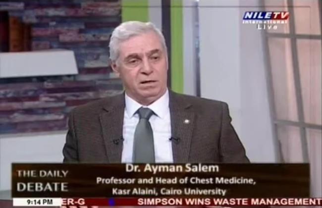 أيمن سالم: تراجع إصابات كورونا مع انتشار لقاحات وعلاجات جديدة للفيروس