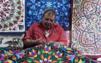 لجنة المرأة والتجارة تقيم ورشة عمل لفن الخيامية