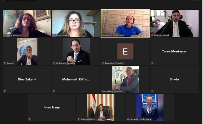 الجمعية المصرية لشباب الأعمال تلتقي ممثلي كلية الأعمال بالجامعة الأمريكية