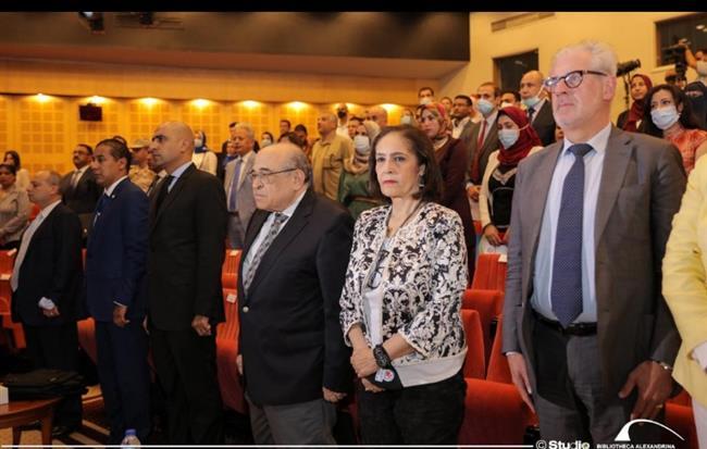 مكتبة الإسكندرية تفتتح مؤتمر الهجرة غير الشرعية