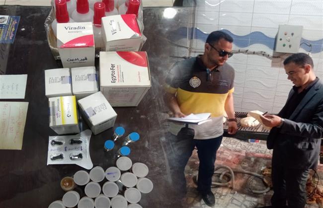 حملات مكثفة بشبراخيت وكوم حمادة لضبط الأسواق استعدادا لعيد الأضحى