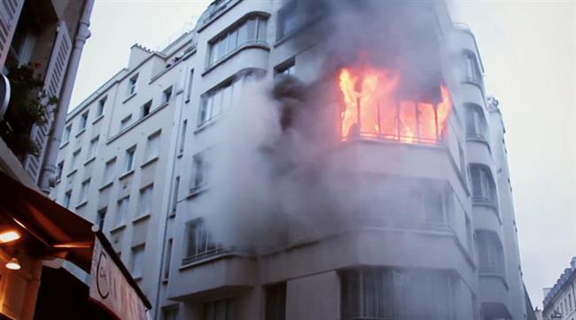 اندلاع حريق بمبنى رئاسة مجلس مدينة دكرنس.. والحماية تتدخل