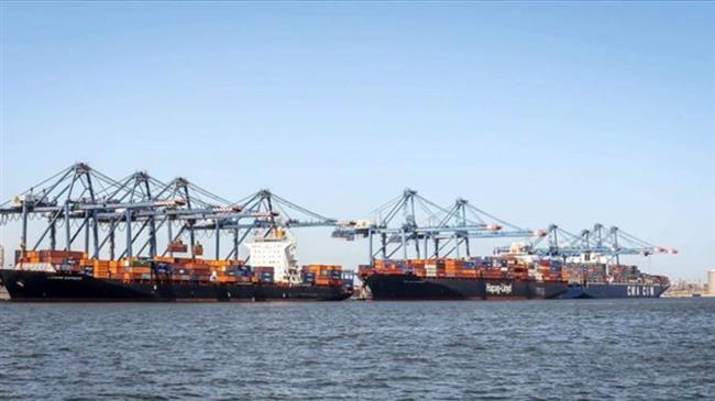 تداول 18 سفينة للحاويات والبضائع بميناء دمياط خلال يوم واحد