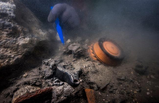 إكتشتف سفينة حربية من العصر البطلمي في الأسكندرية