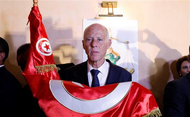 الرئيس التونسى يكلف جيشه بإدارة أزمة كورونا