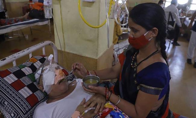 الهند: عدد المصابين بـ الفطر الأسود 45 ألف