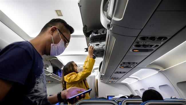 «الاياتا»: ٨٦٪ من المسافرين يرتدون القناع الخاص بحمايتهم من فيروس كورونا