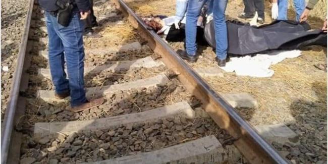 كشف ملابسات مصرع شاب صدمه قطار في منشأة القناطر
