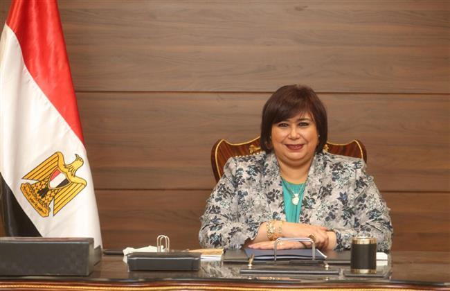 وزيرة الثقافة :  علاقات ثقافية بين مصر وقبرص فى الاعلى للثقافة