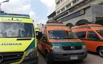 إصابة 4 أشخاص فى انقلاب «نقل»على صحراوي أسوان