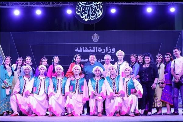 خالد جلال يشهد أولى ليالى برنامج «صيف الإنتاج الثقافى» بساحة الهناجر