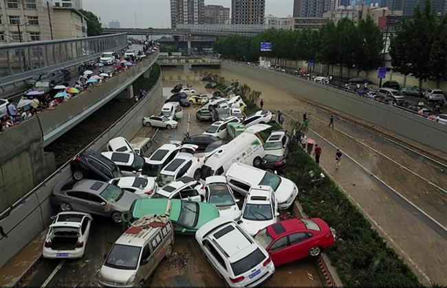 ارتفاع حصيلة ضحايا الفيضانات في الصين إلى 51 شخصا