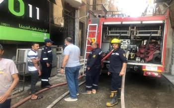 السيطرة على حريق اندلع بوحدة سكنية بمنطقة بين السريات بالدقى