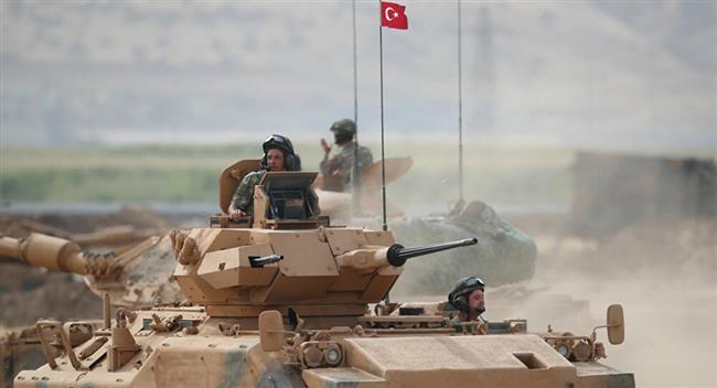 المرصد السوري: القوات التركية تستهدف مناطق خاضعة لسيطرة الأكراد بريف حلب الشمالي