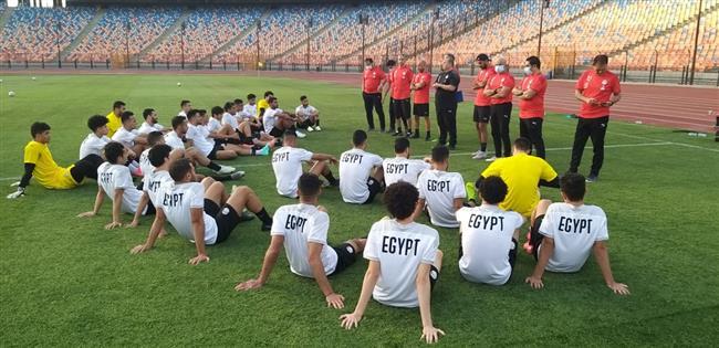 المنتخب الأولمبى يستعد لمواجهة الأرجنتين