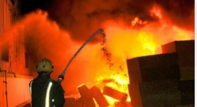 مصرع وإصابة 40 شخص فى حريق ضخم بالصين