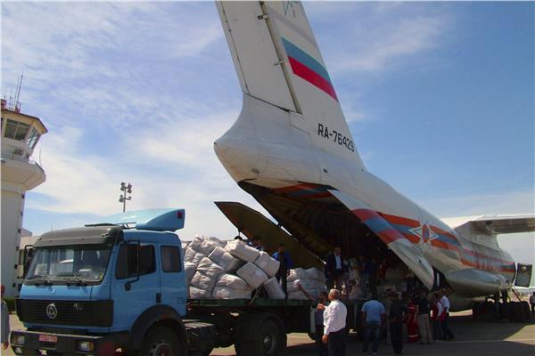 روسيا ترسل 160 طنا من المساعدات الطبية إلى سوريا