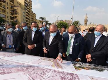 مدبولى: توجيهات من الرئيس السيسي بضغط المخطط الزمني لتنفيذ مشروع حدائق الفسطاط