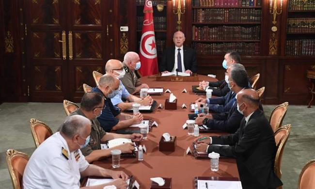 قيس سعيد يتوعد من يقوم بأعمال تخريبية فى تونس