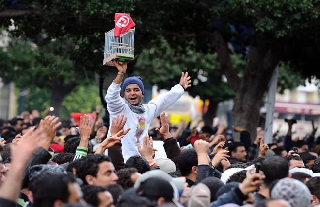 الرئيس التونسى يتعهد بحماية الثورة الشعبية فى ظل الشرعية