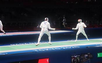أولمبياد طوكيو.. محمد السيد يتأهل لدور الـ 8 فى منافسات السلاح