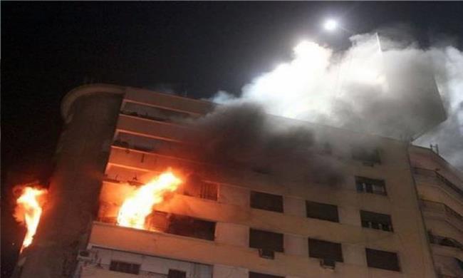 السيطرة على حريق هائل بإحدى الشقق السكنية ببنى سويف