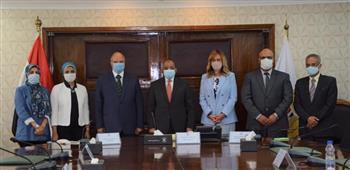 «الوطنية للتدريب» توقع بروتوكولا تعاونا لتأهيل العاملين بمحافظة القاهرة