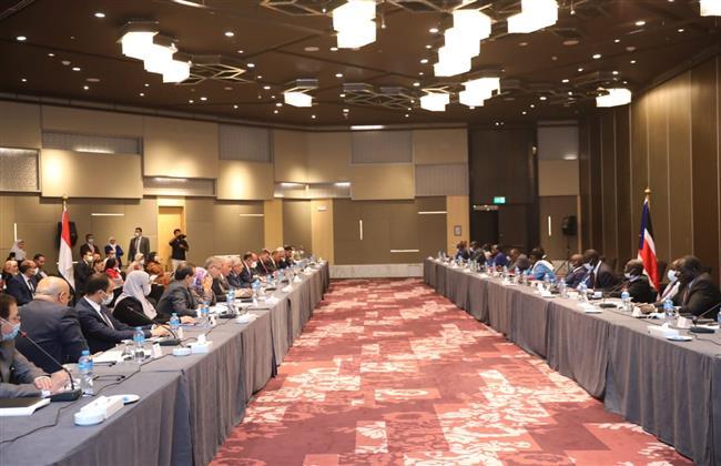 انطلاق الاجتماعات التحضيرية للجنة العليا المُشتركة الأولى بين مصر وجنوب السودان بالقاهرة