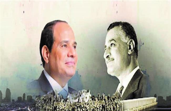 شعبية جارفة نتيجة صدقهما وانحيازهما للشعب «الزعيم الكاريزما» بين ناصر والسيسي