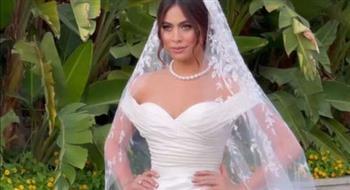 شاهد.. الصور الأولى من حفل زفاف هاجر أحمد