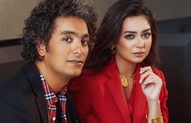 صورة  بطريقة رومانسية.. محمد محسن يهنىء هبة مجدى بعيد ميلادها