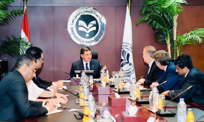 رئيس هيئة الاستثمار يلتقى الرئيس التنفيذى لشركة «كيمين» الأمريكية