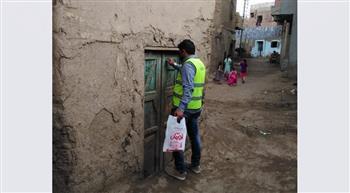 «الأورمان» تنتهي من توزيع لحوم للأولى بالرعاية في 40 قرية بقنا