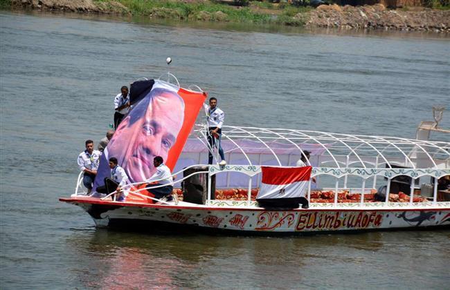 مسيرة نيلية وتنورة .. القليوبية تحتفل بذكرى ثورة 30 يونيو