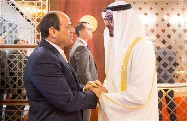 محمد بن زايد تعليقا على افتتاح قاعدة 3 يوليو: «مصر تشهد إنجازات بارزة»