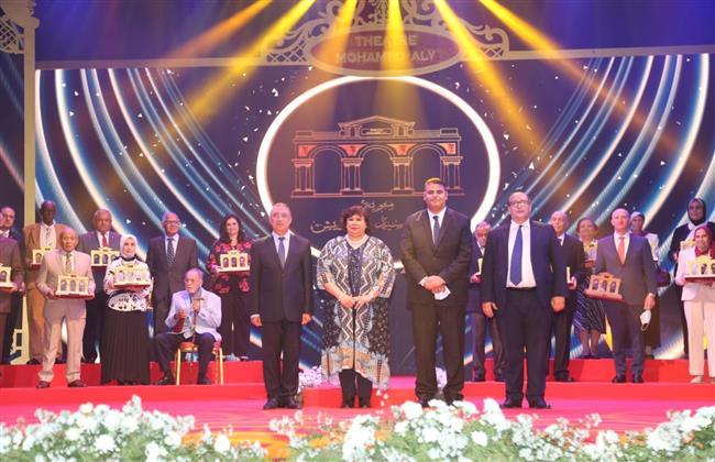وزيرة الثقافة ومحافظ الاسكندرية يطلقان الاحتفالات بمئوية مسرح سيد درويش