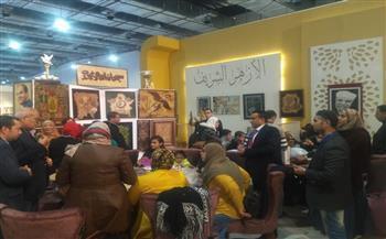 """جناح الأزهر بمعرض الكتاب يقدم """"حقيقة الإسلام"""" بـ 13 لغة"""