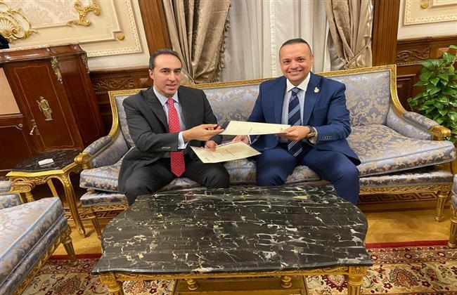 تعاون بين البرلمان العربي ومجلس النواب المصري في مجال التكنولوجيا