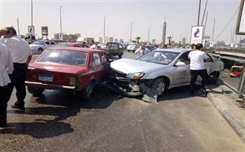 إصابة شخصين في حادث سير ببني سويف