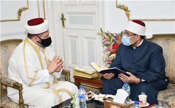 أمين عام دار الفتوى بأستراليا يشيد بدور الأوقاف المصرية