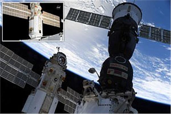 محطة الفضاء الدولية تفقد مسارها بمقدار 45 درجة