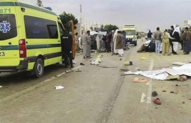 إصابة 3 أشخاص فى انقلاب «ملاكى» ببنى سويف