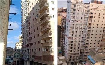 تحقيقات النيابة الإدارية تكشف مفاجأة جديدة في قضية عقار الإسكندرية المائل
